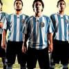 Camiseta Oficial Argentina Mundial 2010