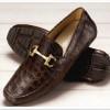 The Modernist, zapatos exóticos con animal print de cocodrilo