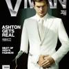 Ashton Kutcher para la revista V Man Primavera – Verano 2008