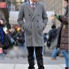 La última moda en sobretodos con Ed Westwick de Gossip Girl