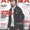 El estilo de James McAvoy para la revista Arena