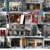Mapa con tiendas de ropa para hombres en París