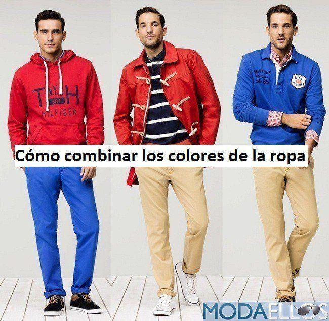 Como combinar los colores de la ropa hombre - Colores para combinar ...