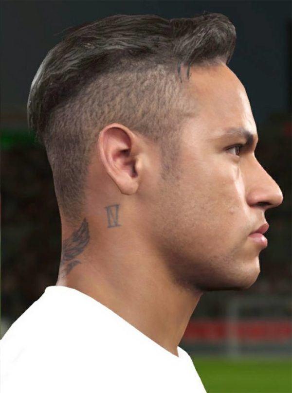 peinados de futbolistas de moda neymar