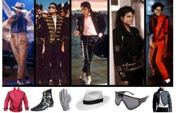 Elementos icónicos de Michael Jackson