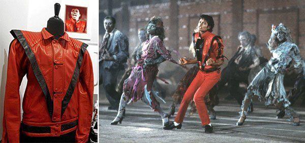 Disfraz Michael Jackson en Thriller