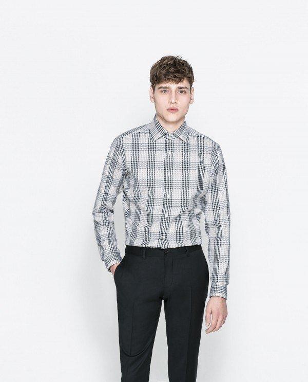 moda-hombre-2014-camisa-cuadros-zara
