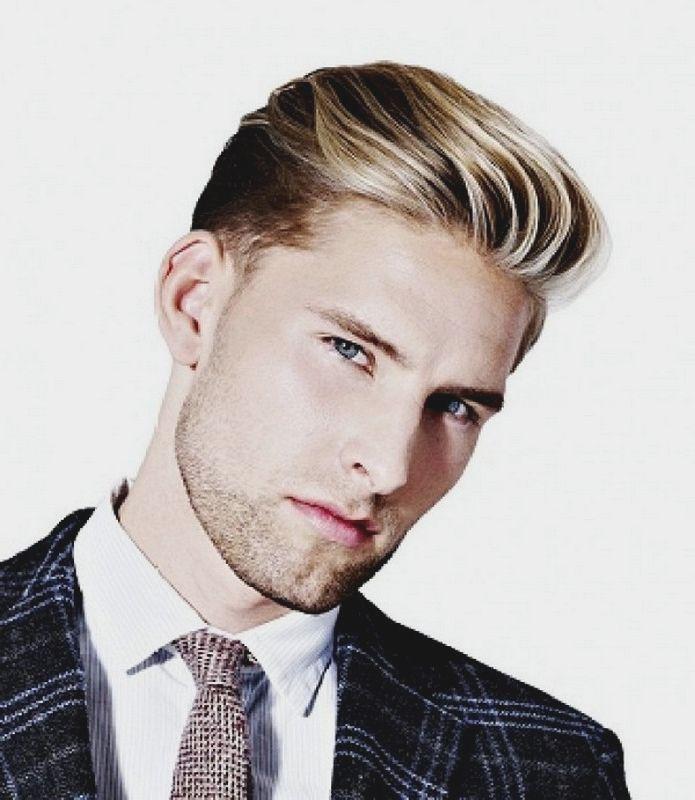 Peinados hombre 2016 cabello corto estilo clasico peinado for Peinado hacia atras hombre