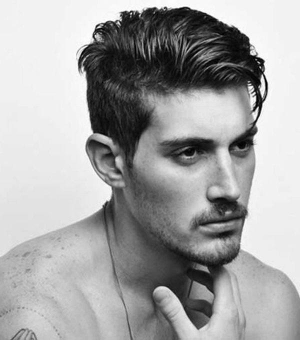 Como planchar el cabello corto para hombre