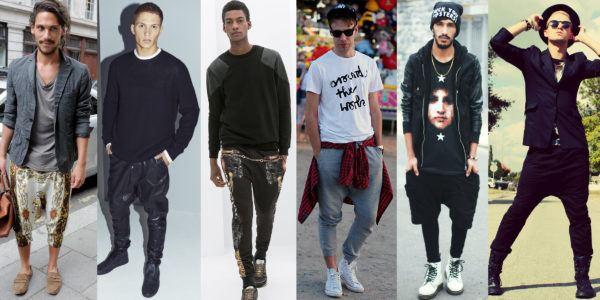 Pantalones Tipo Harem