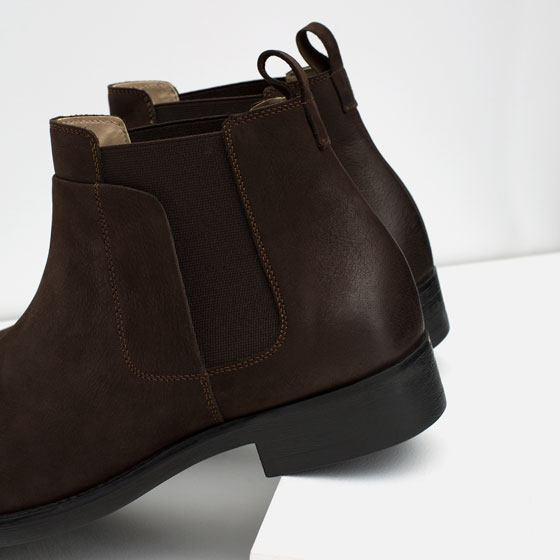 Încălțăminte Zara pentru bărbați toamnă/iarnă 2015-2016