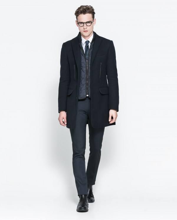 moda,hombre,navidad,2013,2014,abrigo,largo,desmontable,