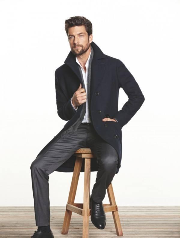 moda-hombre-navidad-2013--2014-estilo-casual-abrigo-camisa-pantalon