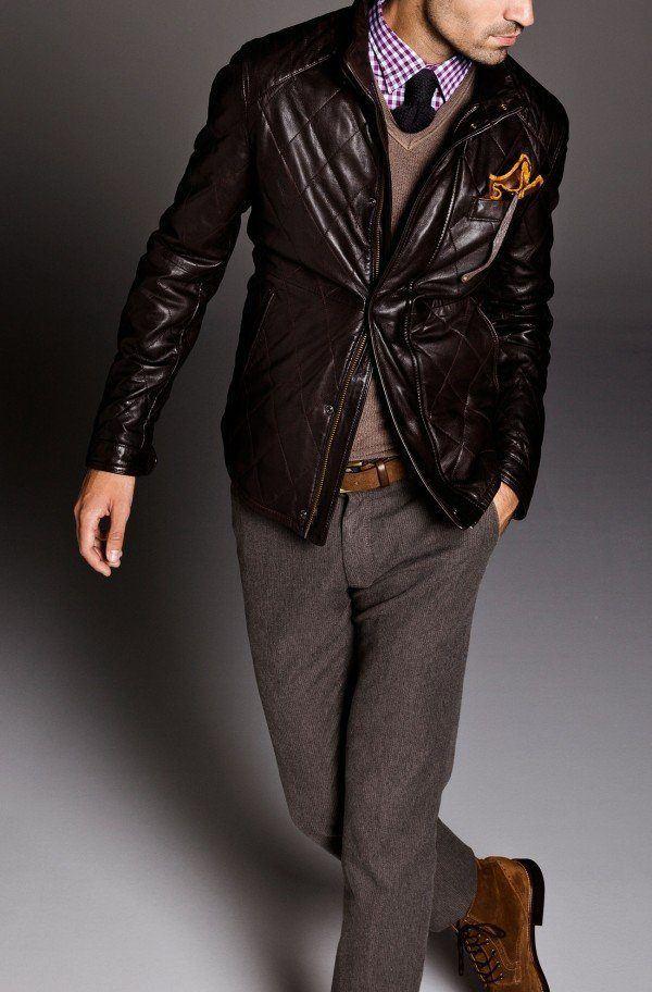 moda-hombre-navidad-2013--2014-estilo-casual-abrigo-cazadora-piel-jersey-camisa-cuadros