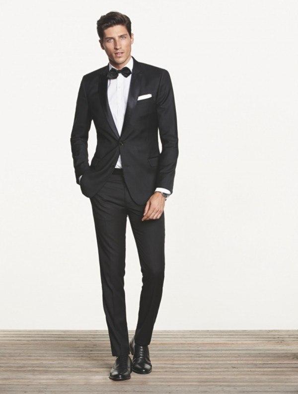 Traje formal elegante hombre