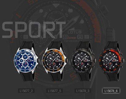 Relojes Lotus Deportivos