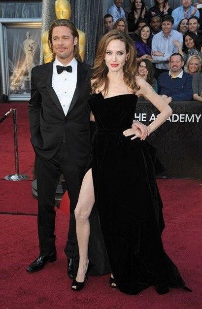 Brad Pitt Oscars 2012