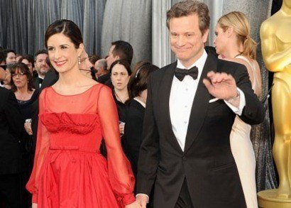 Colin Firth Oscars 2012