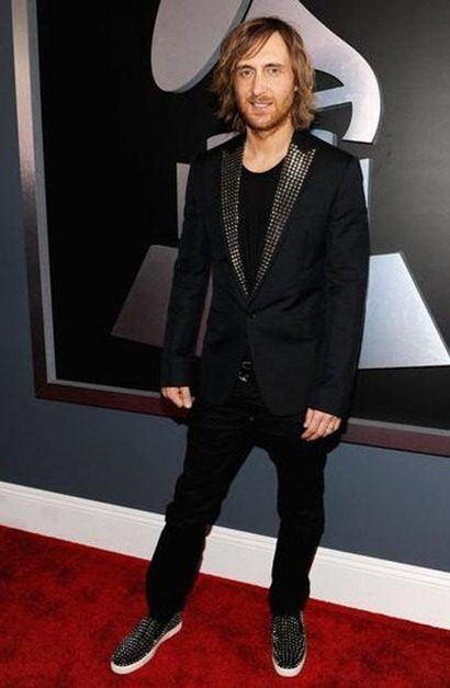 David Guetta Grammys 2012