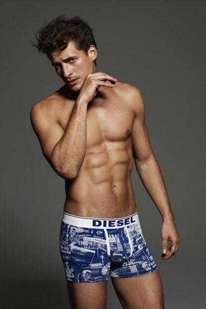 Diesel Underwear Primavera Verano 2012 - 02