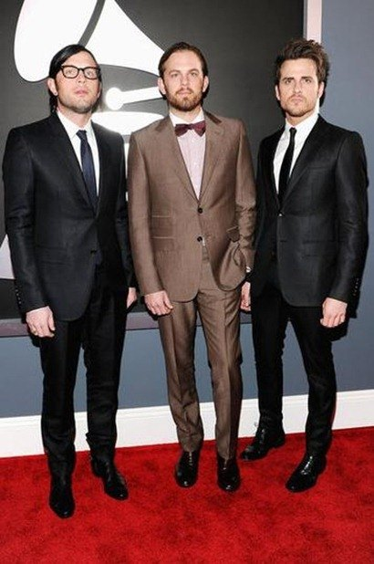 Kings Of Leon Grammys 2012
