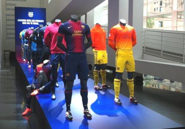Os Dejo Las Fotos De La Nueva Camiseta Del FC Barcelona 2013 2014