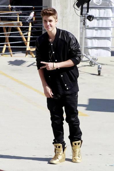 Tenis Supra Dorados De Justin Bieber