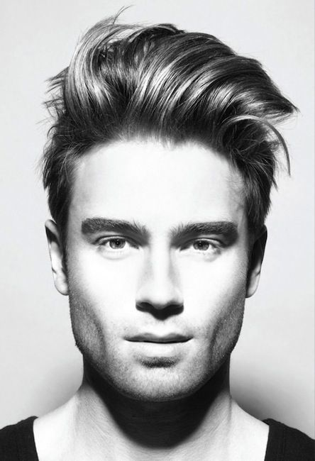 Short Sides Long Top Men's Hairstyle