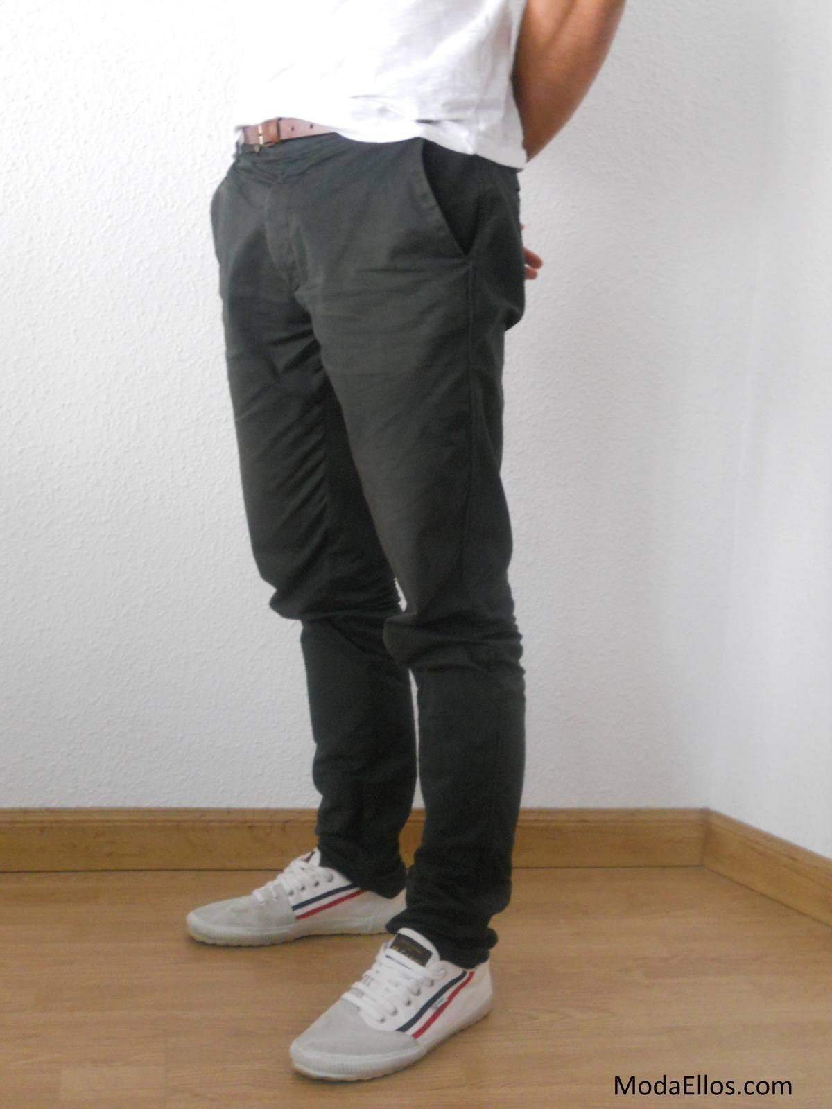 Pantalones Zara Lateral Modaellos Com