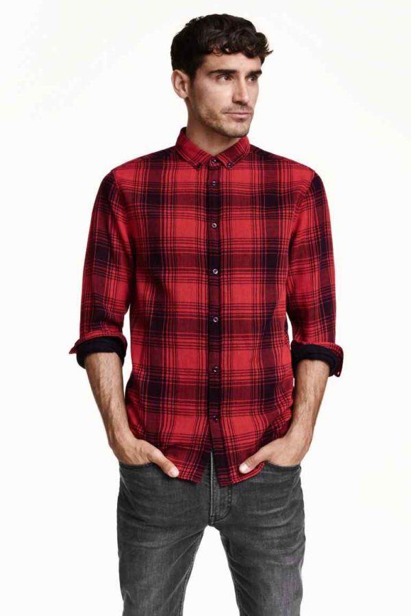 como-vestir-en-accion-de-gracias-2015-americana-camisa-cuadros-de-H&m