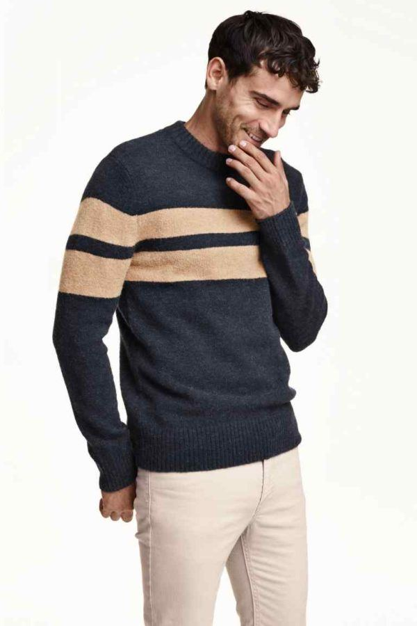 como-vestir-en-accion-de-gracias-2015-americana-jersey-de-punto-de-H&m