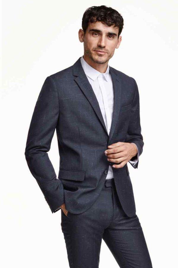 como-vestir-en-accion-de-gracias-2015-americana-slim-fit-de-h&m