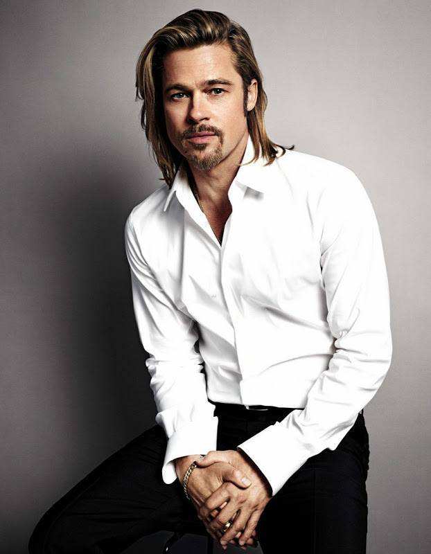 Los cortes de pelo de Brad Pitt - Modaellos.com