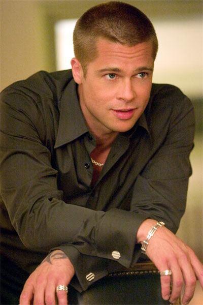 Brad Pitt rapado