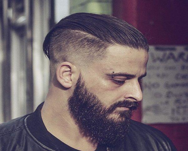 Cortes de pelo hombres barba-desconectada
