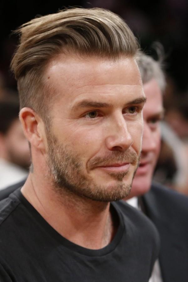 Los cortes de cabello 2018 de Mr. David Beckham