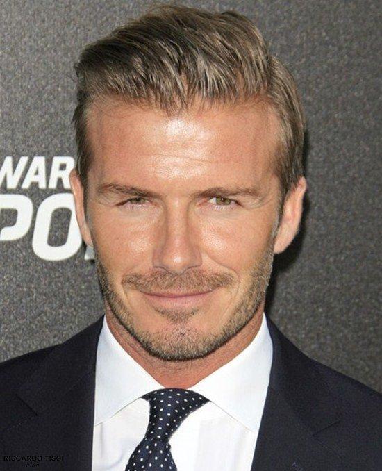 Los cortes de cabello 2015 de Mr. David Beckham Estilo clasico