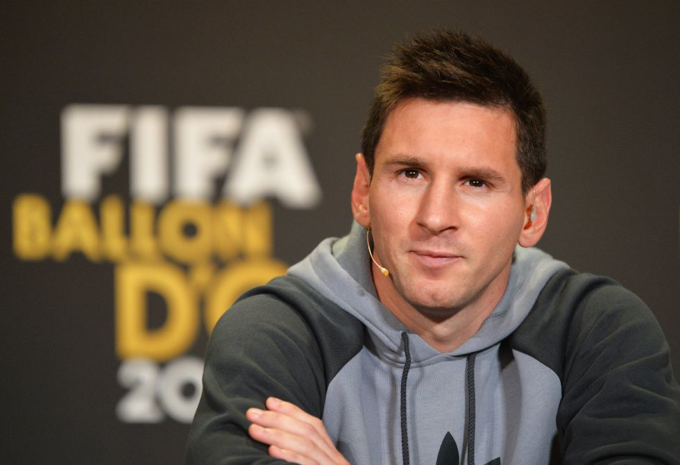 Messi peinado actual