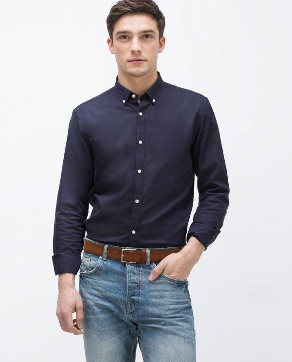 como-vestir-para-una-entrevista-de-trabajo-look-informal-jeans-camisa