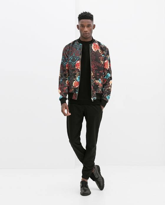 moda-para-hombres-primavera-verano-2014-consejos-para-vestir-en-esta-temporada-cazadora-flores-zara