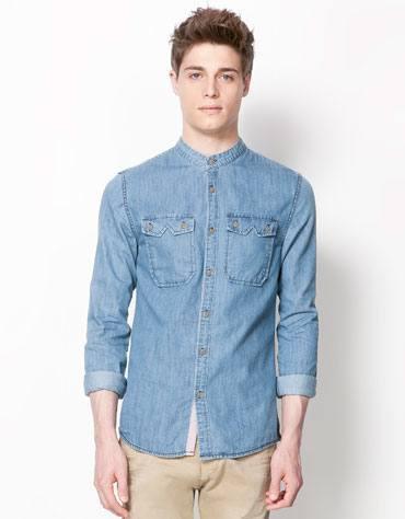 Camisas De Cuello Chino Related Keywords   Suggestions - Camisas De . d5c27a16a82