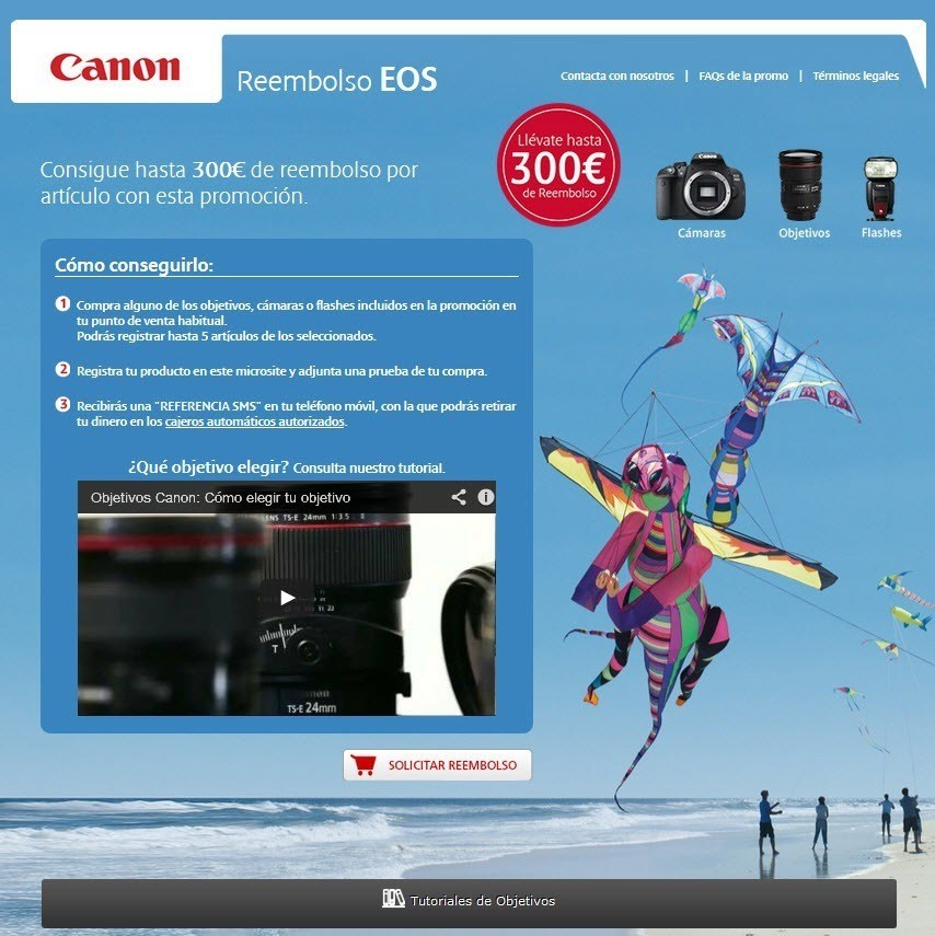 Canon Reembolso EOS