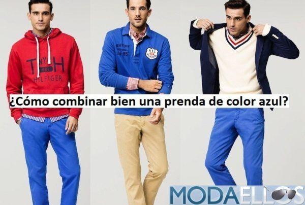 combinar-una-prenda-de-color-azul