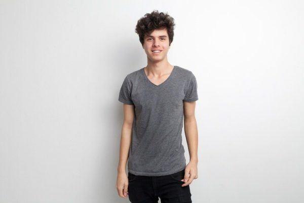 Cortes de pelo y peinados para adolescentes rizado