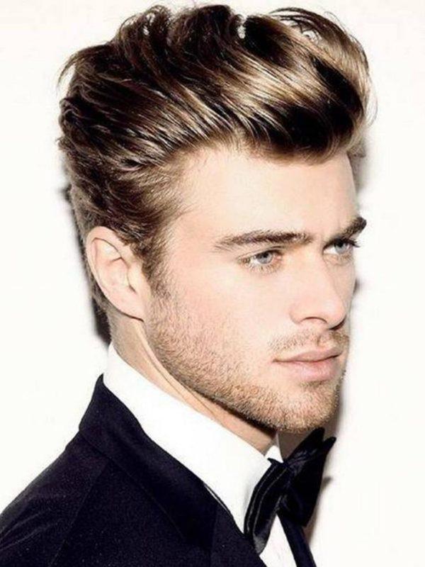 cortes de pelo y peinados para hombres cabello corto