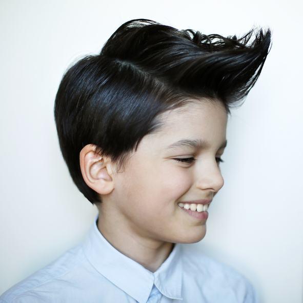 Cortes de pelo y peinados para ninos cresta