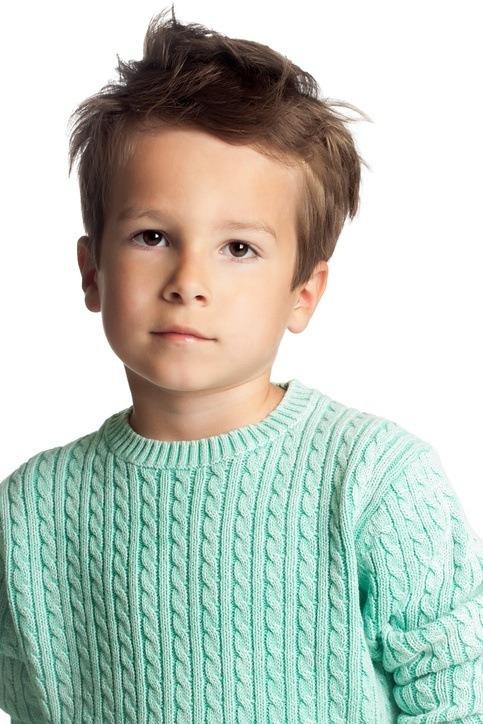 Cortes de pelo y peinados para ninos modernos