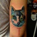 las-fotos-de-tatuajes-de-hombre-2013-gato-brazo