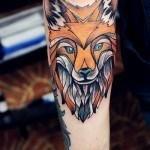 las-fotos-de-tatuajes-de-hombre-2013-zorro-antebrazo