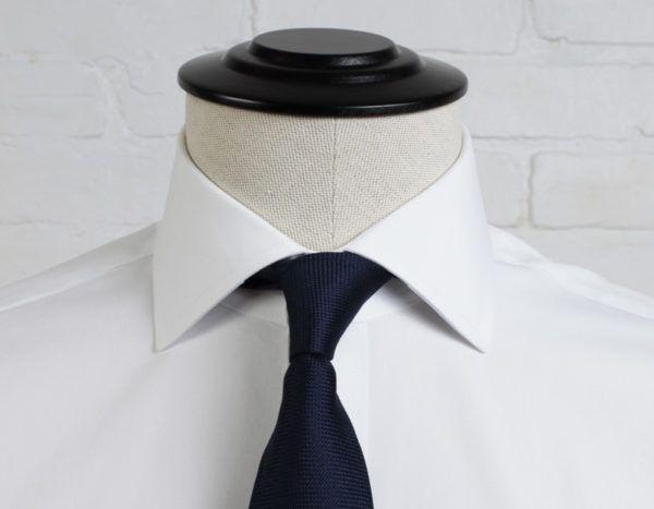 Tipos de cuello de camisa para caballeros